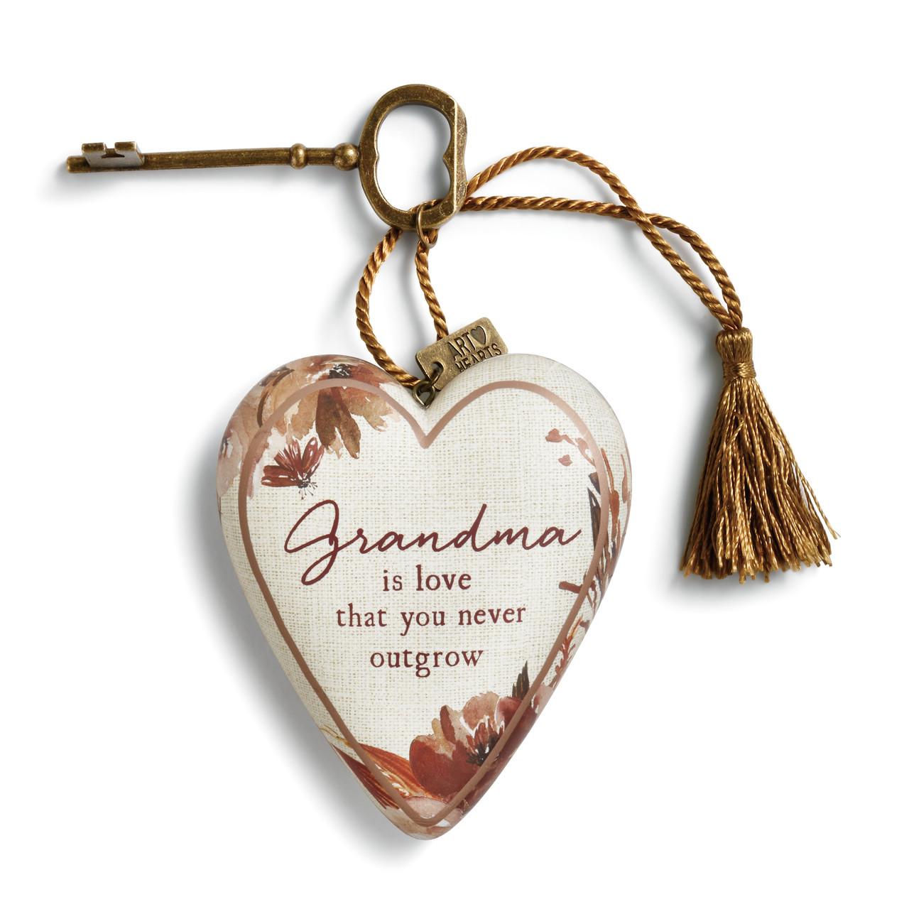 Image Grandma is Love Art Heart